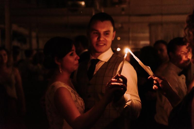 taniec ze świecami