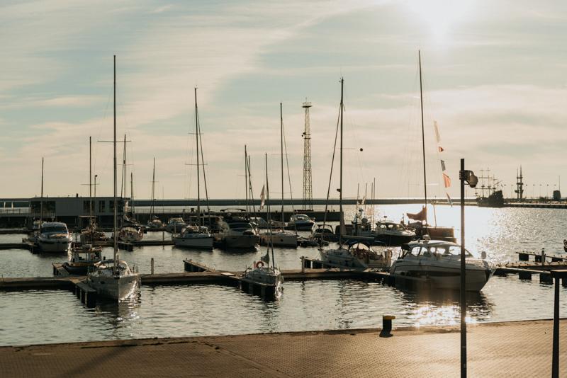 plener ślubny sea towers