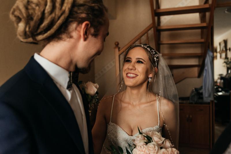 first look na ślubie