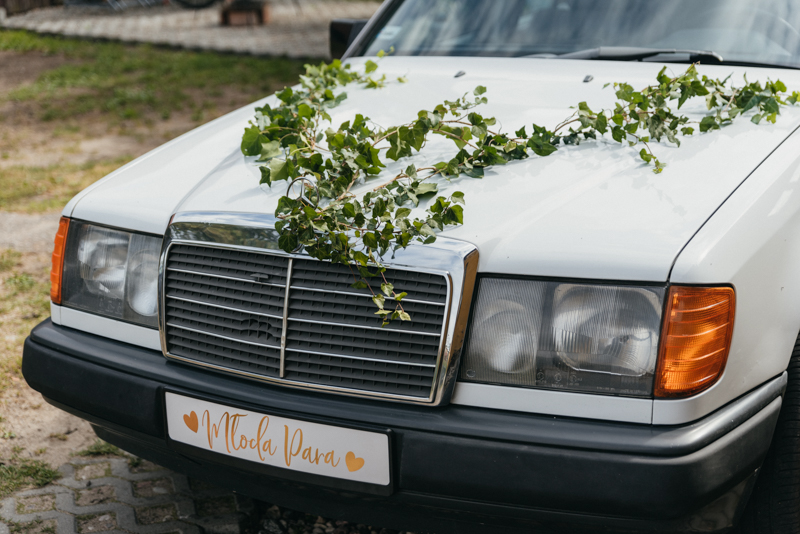 merc do ślubu